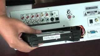 Đập hộp Arirang Karaoke 3600HDD Plus - cách copy karaoke vào máy
