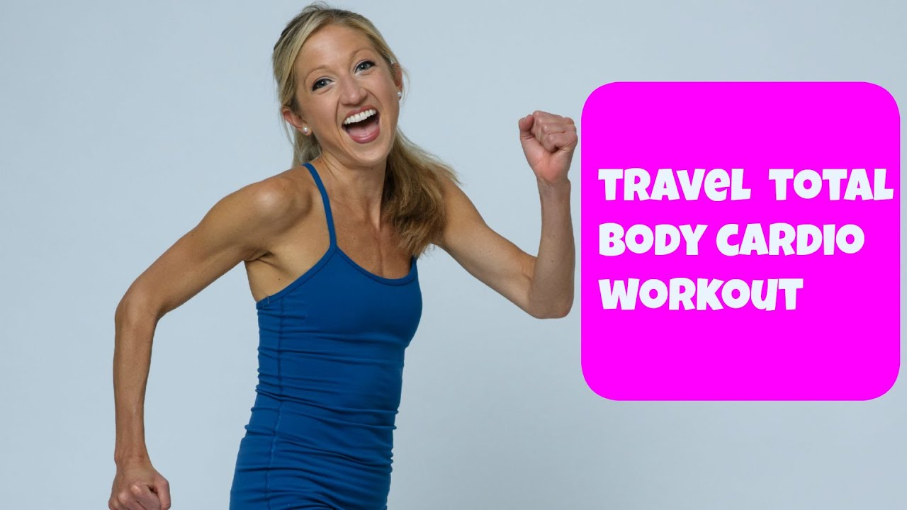 25 Minute Total Body Cardio Circuit Workout For Travel Youtube Holiday Jump And Jack