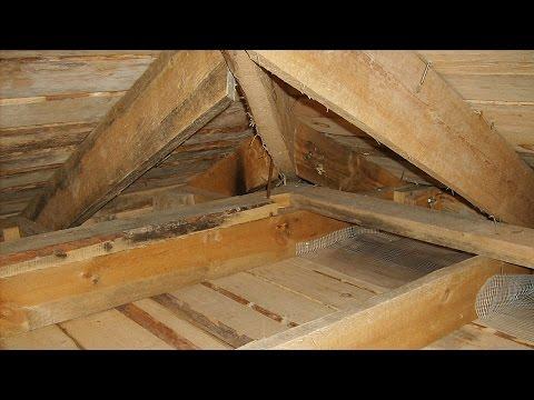 видео: █ Как утеплить потолок, своими руками (частный дом, баня, чердак)