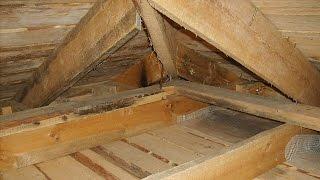 видео Потолок в деревянном доме как сделать своими руками фото