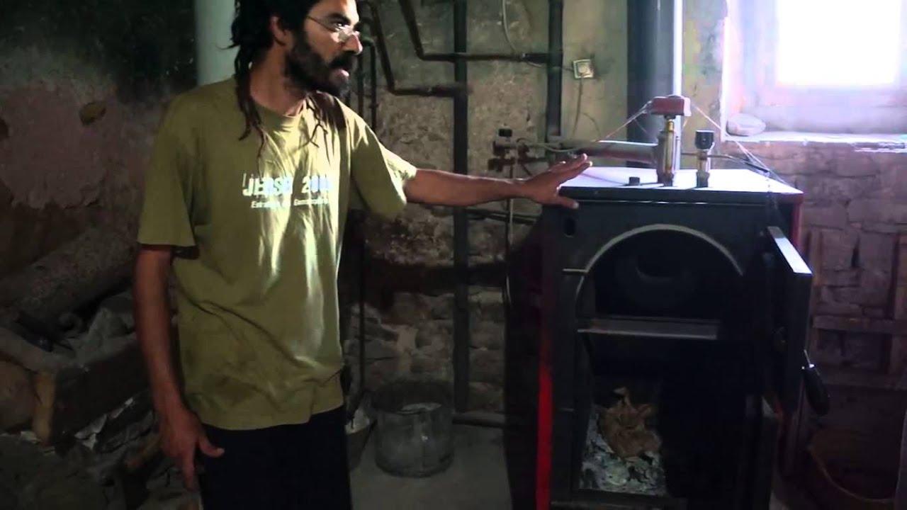 Sistema de estufa de le a para calentar toda la casa 02 - Estufas calefactoras de lena ...