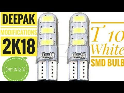 How to install Led pilot light in your motorcycle speedometer and parking ||scooty pep +  || 2K18 ||