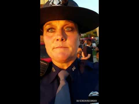 Michigan State Trooper bullies and harasses me then illegally arrests me! Please share!