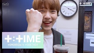 [T:TIME] SOOBIN learns how to enjoy Americano - TXT (투모로우바이투게더)