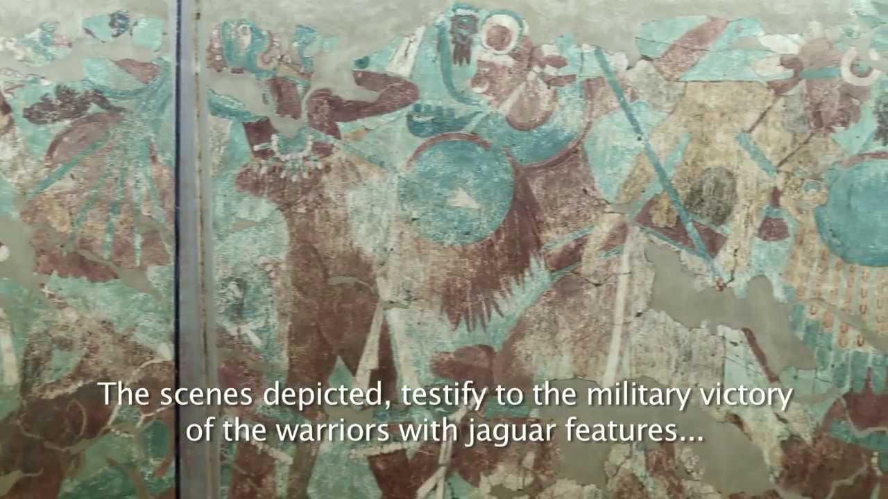 Mural de la Batalla, Cacaxtla. Cápsula. Subtitulado