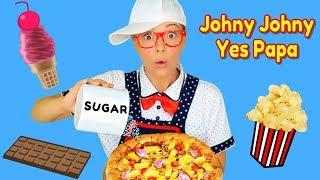 Johny Johny Yes Papa | Johny Johny Yes Mama Nursery Rhymes and Play Kitchen Cooking Kids Songs