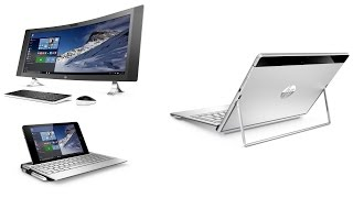 HP stellt vor: Spectre X2, Envy Note 8 und 34 Zoll Curved All-in-One - GIGA.DE