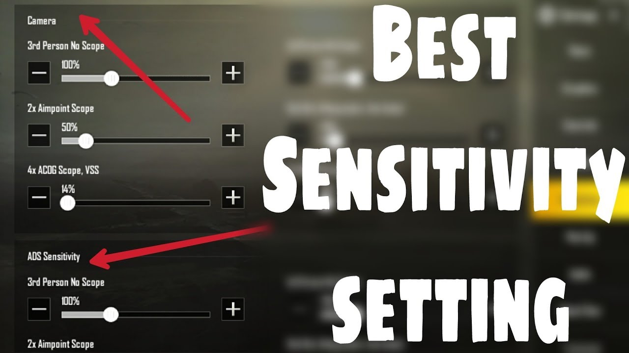 There Are Best Settings For Pubg Mobile Game: Best Sensitivity Setting In PUBG Mobile