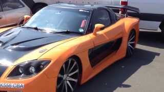 Tokyo Drift Hans Style Car Drif Allstarst RD1 Stratford 2014 London