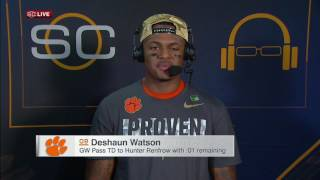 Watson looks ahead to NFL career