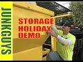 How to remove and dispose of a Storage Shed in Dallas Texas / dfwjunkguys.com