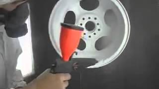 Порошковая покраска литого диска