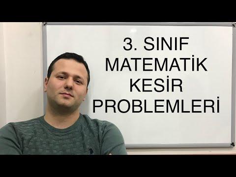 3. SINIF MATEMATİK KESİR PROBLEMLERİ 1   #kadirhoca