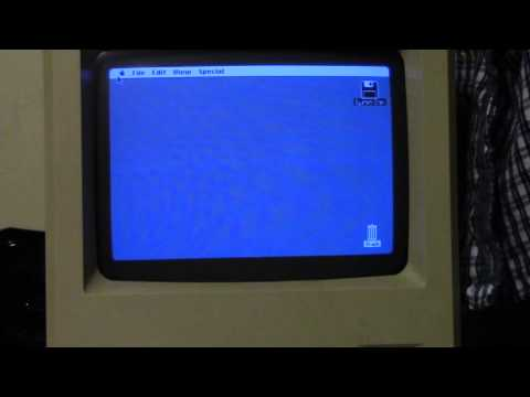 Macintosh 512Ke Boot