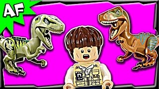 Lego Jurassic World Raptor Escape 75920 Stop Motion Build Review