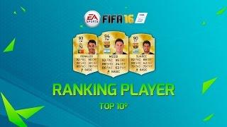 FIFA16 | RANKING PLAYER - RANKING VALORACION TOP 10