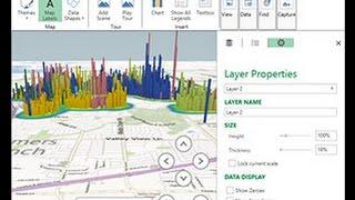 Расчет продаж по городам с использованием Microsoft Excel и Microsoft Visio