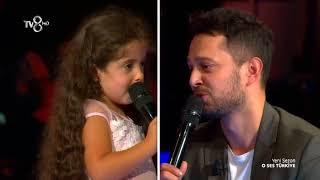 Murat Boz ve Küçük Elvin'in Düeti O Ses Türkiye 2018