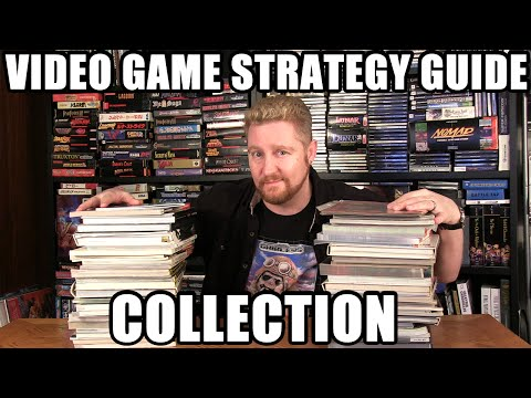 VIDEO GAME STRATEGY GUIDE Collection! - Happy Console Gamer