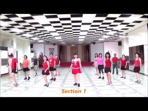 Summer Night Cha Cha (by Ir Torre) - line dance (demo & walk through) = 夏夜恰恰 - 排舞(含導跳)