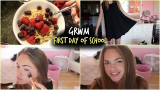 Getting Ready for the First Day of School💙📓//2014