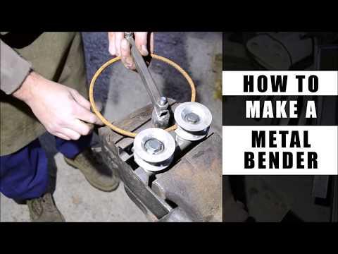 How to make a metal bender (DIY)