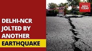 Earthquake Tremors Jolts Delhi-NCR Region | Breaking News