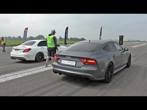 Vos pronostiques? Audi RS7 Sportback vs Mercedes-AMG C63S vs BMW M4!