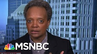 Chicago Mayor: Federal Government 'Needs To Step Up' | MTP Daily | MSNBC