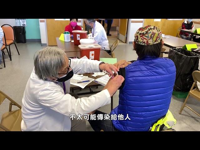 全國: 研究表明 接種疫苗人士攜帶病毒與其他人一樣多