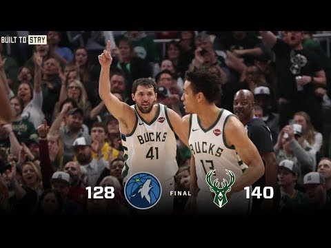Bucks - Bucks beat Timberwolves 140-128 in Nikola Mirotic's Milwaukee debut