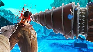Exploding Heads with Big Daddy's Drill in Blade and Sorcery VR!