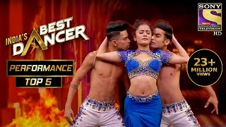 Shwetha ने अपने Extraordinary Dance से किया सब को Mesmerized! | India's Best Dancer | Best Of Top 5
