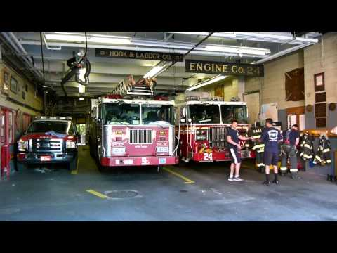 FDNY Engine 24 and Battalion 2 go on a multiple dwelling call