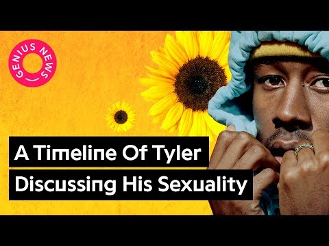 """Tyler, The Creator Used To Be Accused of Homophobia, Now Raps About """"Kissing White Boys"""""""