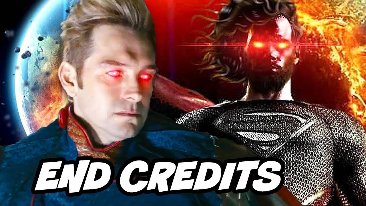 The Boys Ending and End Credit Scene Breakdown - Dark Justice League