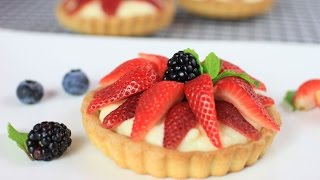 Strawberry Vanilla Tartlets Recipe