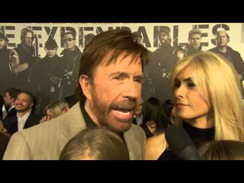 Chuck Norris at The Expendables 2 Premiere! HD]