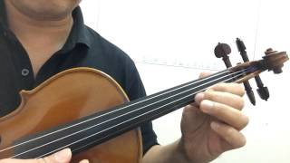 How to play 'Nothing's Gonna Change My Love for you' on Your Violin