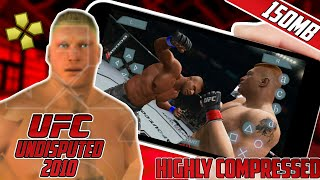 (150MB)UFC UNDISPUTED 2010 PSP HIGHLY COMPRESSED || MMA || UFC ANDROID || HIGHLY COMPRESSED