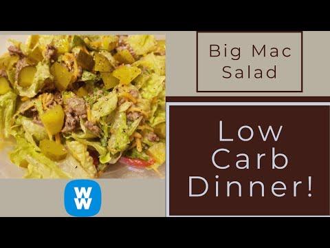 Bic mac salat low carb