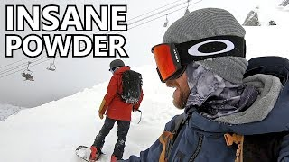 Snowboard - Insane Powder Snowboarding Whistler Peak