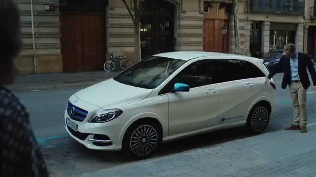 Mercedes benz singapore the new b class feature films for New electric mercedes benz