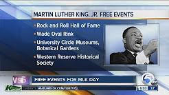 6 AM: Cleveland MLK Day free events