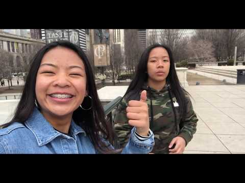 kailey's vlogs : #6 — TOURISTS IN CHCAGO!