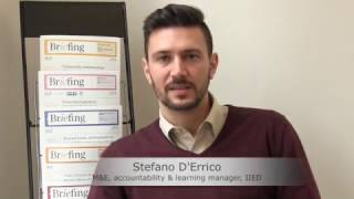 A philosophy for better evidence: interview with Stefano D'Ericco