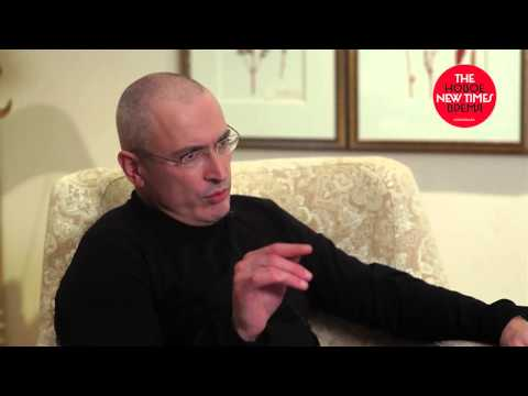 17 часов на свободе. Интервью Евгении Альбац, The New Times с Михаилом Ходорковским