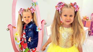 डियेना सुंदर बनना चाहती है - जादुई आईना