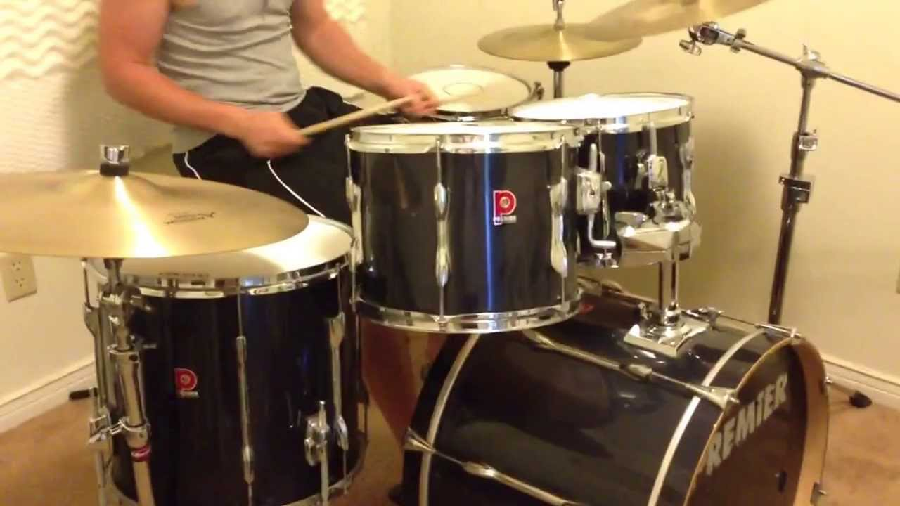 Premier Cabria Drum Set With Zildjian A Cymbals Youtube