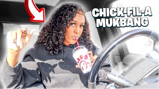 CAR CHICKFILA MUKBANG 🤔